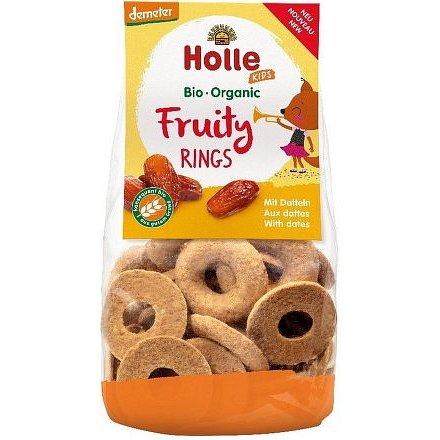Fruity rings with dates – dětské ovocné kroužky s datlemi