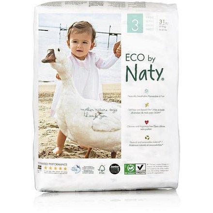 Plenky Naty Nature Babycare Midi 4 - 9 kg (31 ks)