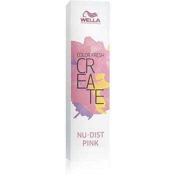 Wella Professionals Color Fresh Create vymývající se barva na vlasy odstín Nu-Dist Pink 60 ml