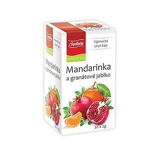 Apotheke Mandarinka a granát. jablko čaj 20 x 2 g