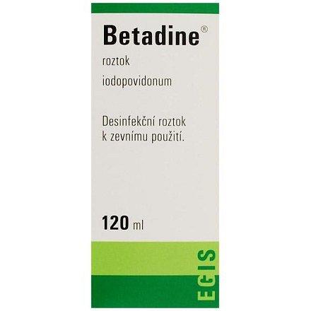 Betadine tekutina 1 x 120 ml (H) zelený