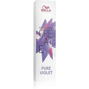 Wella Professionals Color Fresh Create vymývající se barva na vlasy odstín Pure Violet 60 ml