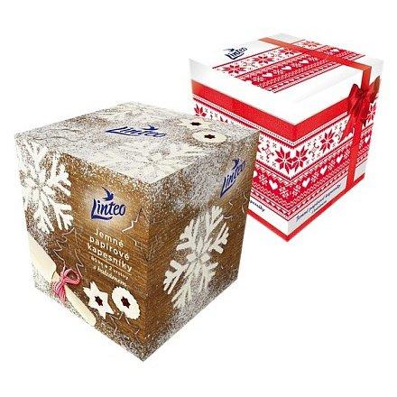 LINTEO Premium papírové kapesníky 80 ks