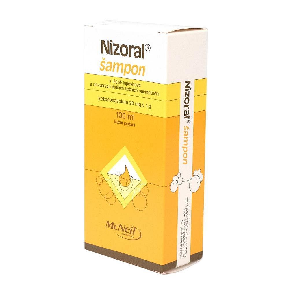 NIZORAL Šampon 20 mg /g 100 ml