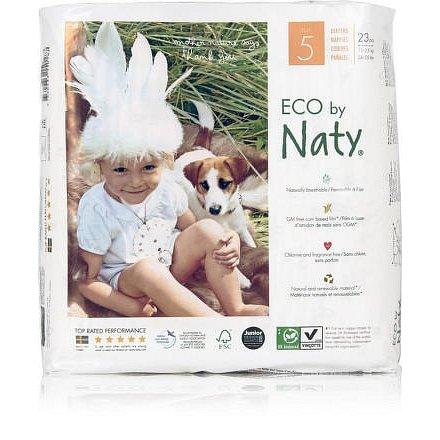Plenky Naty Nature Babycare Junior 11 - 25 kg (23 ks)
