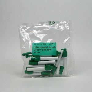 TePe ZELENÝ 0,8mm mezizubní kartáček 25ks
