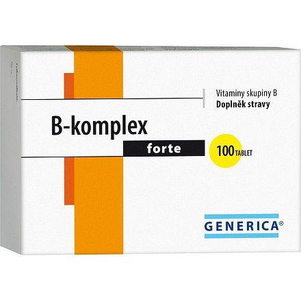 B-komplex forte Generica tablety 100