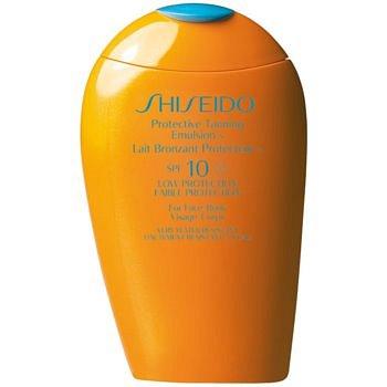Shiseido Sun Care Protective Tanning Emulsion opalovací emulze SPF 10  150 ml