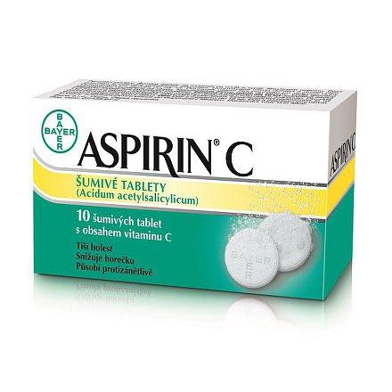 Aspirin C šumivé tablety 10 ks