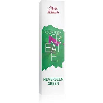 Wella Professionals Color Fresh Create vymývající se barva na vlasy odstín Neverseen Green 60 ml
