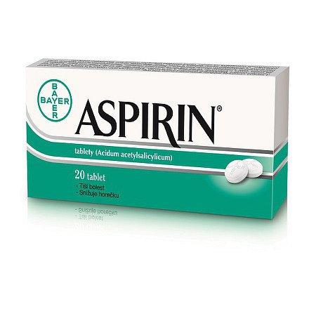 Aspirin® 500 mg, 20 neobalené tablety