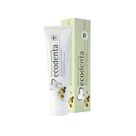 Ecodenta Zubní pasta pro citlivé zuby s heřmánkem, hřebíčkem a Kalidentem 100ml