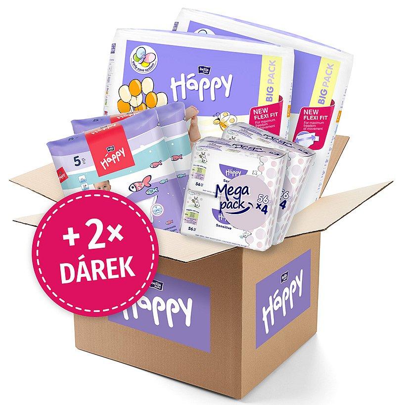 BELLA HAPPY BABY Start Box Mini (3-6kg) – jednorázové pleny