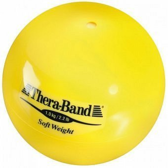 Thera-Band Medicinball, žlutý, 1,0kg
