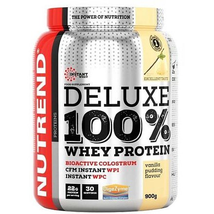 DELUXE 100% WHEY 900 g čokoláda+mandle