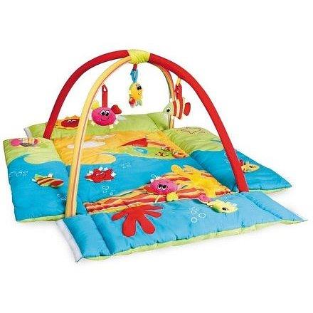 Multifunkční hrací deka 3 v 1 oceán