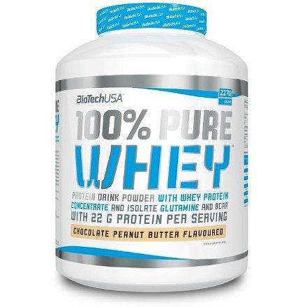 BiotechUSA 100% Pure Whey 2270g Hazelnut cream