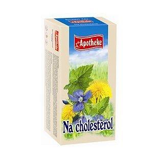 Apotheke Na cholesterol čaj 20x1.5g n.s.