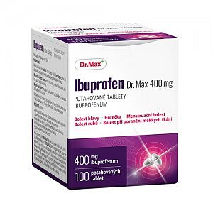 Dr.Max IBUPROFEN 400 mg 100 tablet