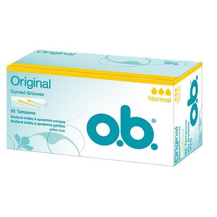 O.B.Tampóny normal 32ks new