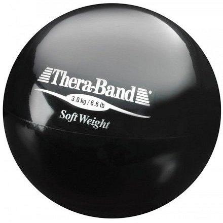 Thera-Band Medicinball, černý, 3kg