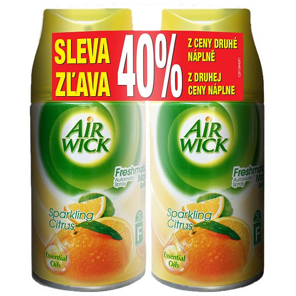 AIR WICK Aut.Spray náplň DUO Citrus 2x 250 ml