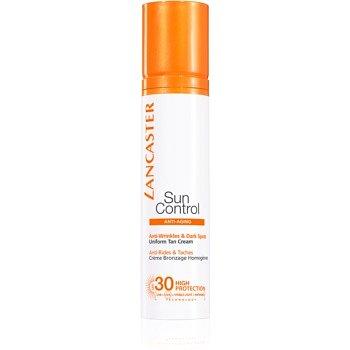 Lancaster Sun Control opalovací krém na obličej s protivráskovým účinkem SPF 30 50 ml