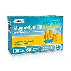 Dr.Max Magnesium B6 Premium 100mg tbl 50