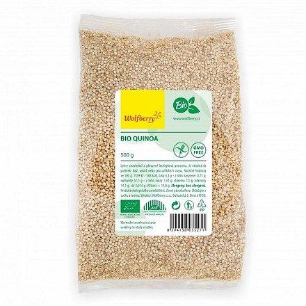 Quinoa bílá BIO 500 g Wolfberry*
