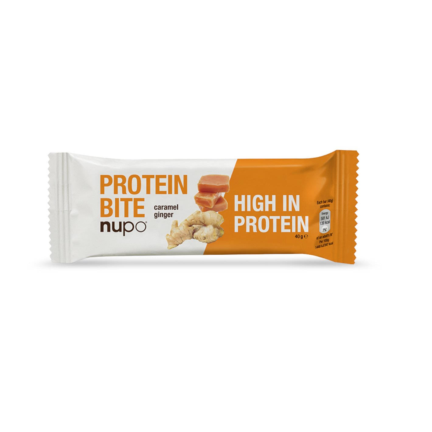 Nupo Protein Bite tyčinka Zázvor - karamel