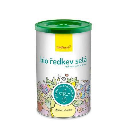 Ředkev BIO semínka na klíčení 200g Wolfberry