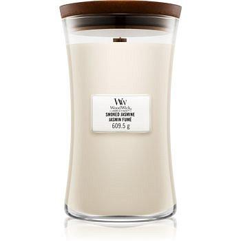Woodwick Smoked Jasmine vonná svíčka s dřevěným knotem 609,5 g