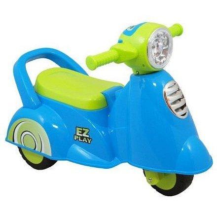 Dětské jezdítko se zvukem Baby Mix Scooter blue