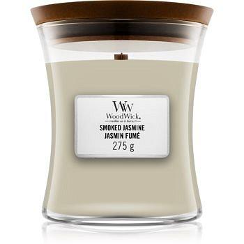 Woodwick Smoked Jasmine vonná svíčka s dřevěným knotem 275 g