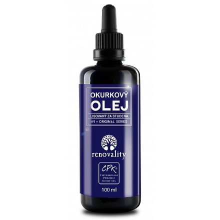 Okurkový olej ze semen stud.lis. Renovality 100ml