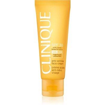Clinique Sun opalovací krém na obličej s protivráskovým účinkem SPF 30  50 ml