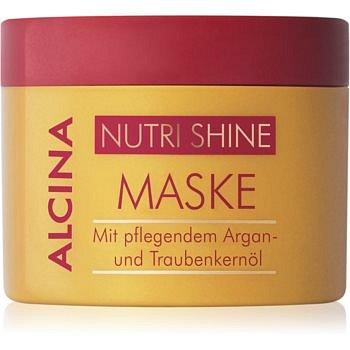 Alcina Nutri Shine vyživující maska na vlasy s arganovým olejem  200 ml