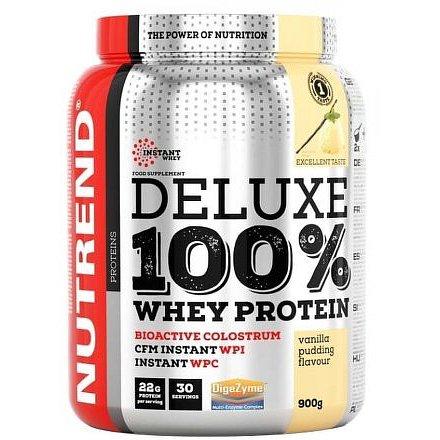 DELUXE 100% WHEY 900 g čokoládové brownies