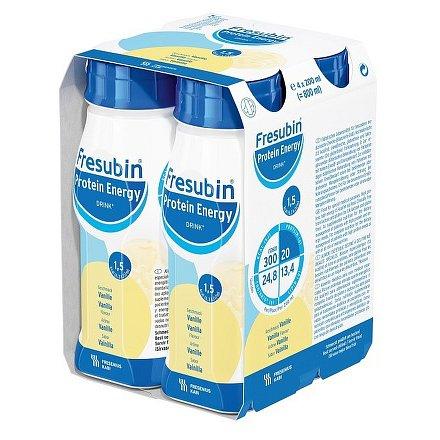 Fresubin protein energy vanilka perorální roztok  4 x 200 ml