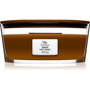 Woodwick Humidor vonná svíčka s dřevěným knotem (hearthwick) 453,6 g