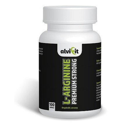 ALVIFIT L-Arginine Premium Strong 100 kapslí