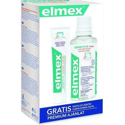 ELMEX Sensitive ústní voda 400ml + zubní pasta 75ml