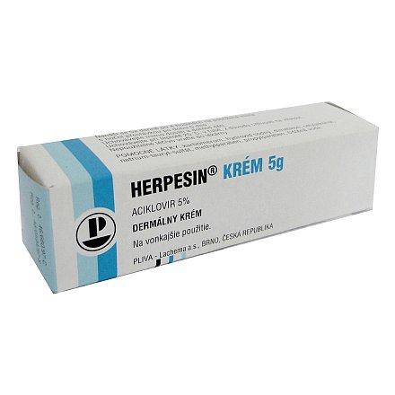 Herpesin krém dermální krém 1 x 5 g 5 %
