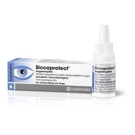 Siccaprotect oční kapky 10ml (umělé slzy)