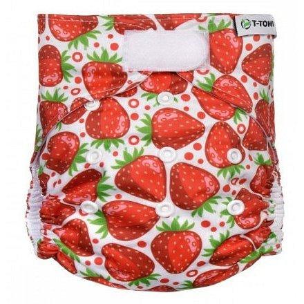 T-TOMI Kalhotková plena AIO SZ strawberries