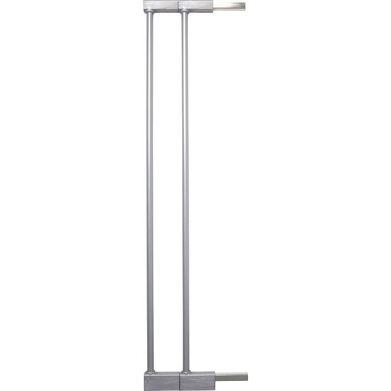 BABYDAN Prodloužení zábrany Avantgard nebo Designer 7cm, 2 ks, silver