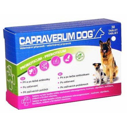 Capraverum Dog probioticum-prebioticum tbl.30