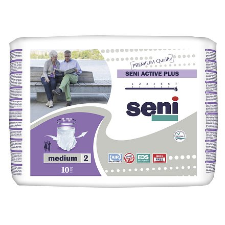 Seni Active Plus Medium 10ks ink. plen. kalh.