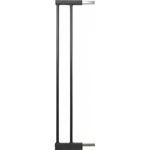BABYDAN Prodloužení pro zábrany 7cm, 2 ks, černé