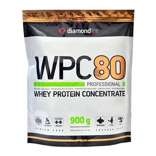 HiTec Nutrition Diamond line WPC 80 protein vanilka 900g